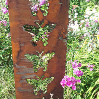 Large Butterfly Garden Panel
