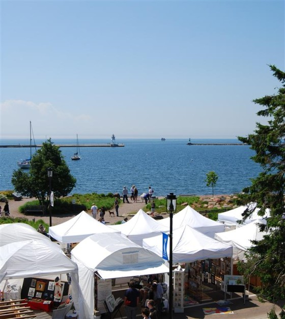 Grand Marais Arts Festival Day One