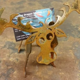 Mini Moose Card Holder