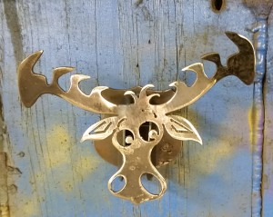 Wall Hanging Mini Moose Head