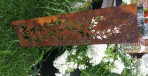 Small Garden Fern Panel