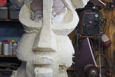 Giant Tiki Puppet