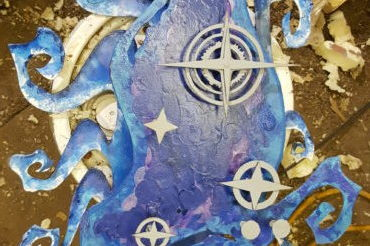 Custom Artwork – Pleiades Sculpture
