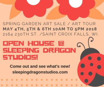 Spring Garden Art Sale /Art Tour 2018